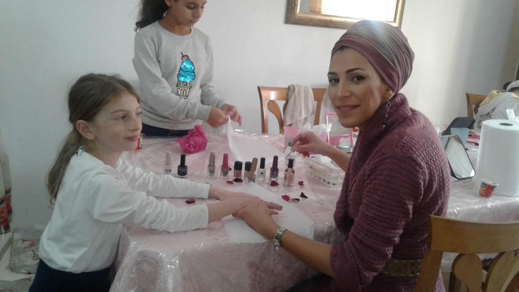 fête bat mitsva – beauty party