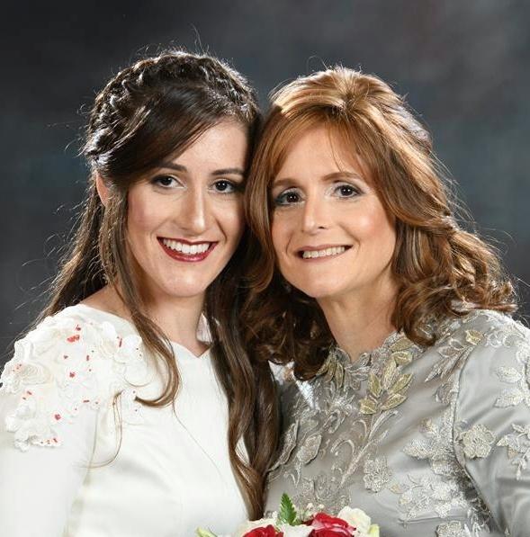mariée avec sa maman